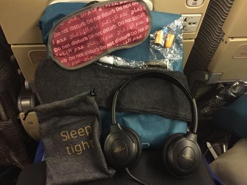 Etihad Amenities Package