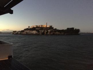 Alcatraz Island from the Ferry