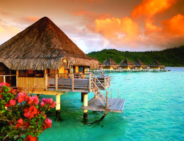 Bungalows, Intercontinental Bora Bora Le Moana Resort