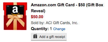 Amazon Gift Card Deal: November Edition $10 Free on $50 + 10% Cash ...