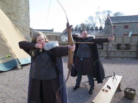 Archery Lessons at Winterfell