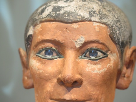 Seated Scribe's Eyes
