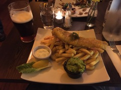 Fish & Chips! Mmm!