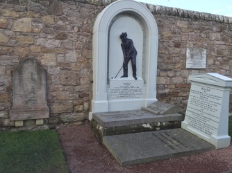 Tom Morris and Son's Graves