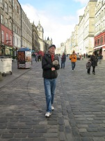 Tour Guide on the Royal Mile